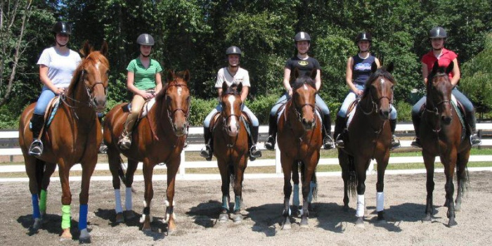 2002 Magnolia Ridge Equestrian Center Show Team